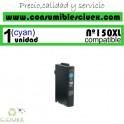 CARTUCHO COMPATIBLE CYAN LEXMARK Nº 150XL