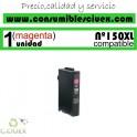 CARTUCHO COMPATIBLE MAGENTA LEXMARK Nº 150XL