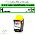 LEXMARK Nº 20 (36ML.) CARTUCHO COMPATIBLE