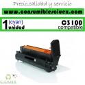 TAMBOR OKI COMPATIBLE C3100/C5100 CYAN