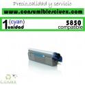 TONER CYAN OKI C5850/C5950 COMPATIBLE