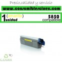 TONER AMARILLO OKI C5850/C5950 COMPATIBLE