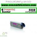 TONER MAGENTA OKI C5850/C5950 COMPATIBLE