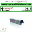 TONER MAGENTA OKI C810 COMPATIBLE PARA IMPRESORAS C810, C810DN, C830, C830DN, MC851, MC861