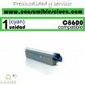 TONER CYAN OKI C8600/C8800 COMPATIBLE