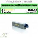 TONER AMARILLO OKI C8600/C8800 COMPATIBLE
