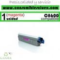 TONER MAGENTA OKI C8600/C8800 COMPATIBLE