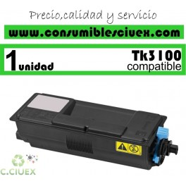 KYOCERA TK3100 TK3110 TK3130 TONER NEGRO GENERICO 1T02MS0NL0/1T02MT0NL0/1T02LV0NL0