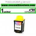 LEXMARK Nº 20 (36ML.) CARTUCHO COMPATIBLE