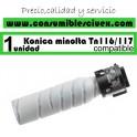 KONIKA MINOLTA TN116/TN117 NEGRO CARTUCHO DE TONER GENERICO A1UC0D0/TN-116/TN-117