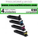 KONIKA MINOLTA BIZHUB C20P/C20 AMARILLO CARTUCHO DE TONER GENERICO A0DK453/TN-318Y