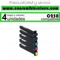 KONIKA MINOLTA BIZHUB C250/C252 MAGENTA CARTUCHO DE TONER GENERICO 8938-509/TN-210M