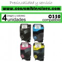 KONIKA MINOLTA BIZHUB C350/C351/C450 MAGENTA CARTUCHO DE TONER GENERICO 4053-403/TN310M