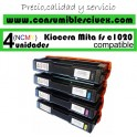 PACK 4 KYOCERA TK150 TONER COMPATIBLE AMARILLO