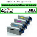 PACK 4 CARTUCHOS COMPATIBLES OKI C5850/5950 A ELEGIR COLOR