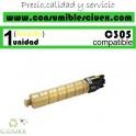 RICOH AFICIO MP-C305/MP-C305SPF AMARILLO CARTUCHO DE TONER GENERICO 842080/841597/MPC305E