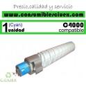 RICOH AFICIO MP-C4000/MP-C5000 CYAN CARTUCHO DE TONER GENERICO 842051/841459/841163