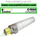 RICOH AFICIO MP-C4000/MP-C5000 AMARILLO CARTUCHO DE TONER GENERICO 842049/841457/841161