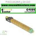 RICOH AFICIO MP-C4502/MP-C5502 AMARILLO CARTUCHO DE TONER GENERICO 841684/841752/TYPE5502E