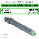 RICOH AFICIO MP-C4502/MP-C5502 CYAN CARTUCHO DE TONER GENERICO 841686/841754/TYPE5502E