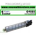 RICOH AFICIO MP-C4503/MP-C5503/MP-C6003 CYAN CARTUCHO DE TONER GENERICO 841856