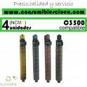 RICOH AFICIO MP-C3500/MP-C4500 AMARILLO CARTUCHO DE TONER GENERICO 884931/888609