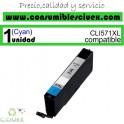 TINTA CANON COMPATIBLE CLI-571XL CYAN