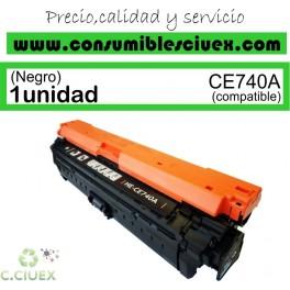 TONER COMPATIBLE HP CE740A NEGRO