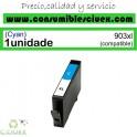 HP 903XL CYAN CARTUCHO DE TINTA GENERICO T6M03AE/T6L87AE