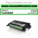 LEXMARK X560 NEGRO CARTUCHO DE TONER GENERICO X560H2KG/X560A2KG