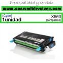 LEXMARK X560 CYAN CARTUCHO DE TONER GENERICO X560H2CG/X560A2CG