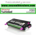 LEXMARK X560 MAGENTA CARTUCHO DE TONER GENERICO X560H2MG/X560A2MG