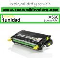 LEXMARK X560 AMARILLO CARTUCHO DE TONER GENERICO X560H2YG/X560A2G