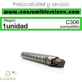 RICOH AFICIO MP-C306/MP-C406 NEGRO CARTUCHO DE TONER GENERICO 842095