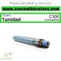 RICOH AFICIO MP-C306/MP-C406 CYAN CARTUCHO DE TONER GENERICO 842096