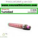 RICOH AFICIO MP-C306/MP-C406 MAGENTA CARTUCHO DE TONER GENERICO 842097