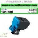 KONICA MINOLTA BIZHUB C3350/C3850 CYAN CARTUCHO DE TONER GENERICO A5X0450/TNP48