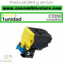 KONICA MINOLTA BIZHUB C3350/C3850 AMARILLO CARTUCHO DE TONER GENERICO A5X0250/TNP48