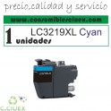 CARTUCHO COMPATIBLE BROTHER LC3219XL NEGRO