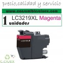 CARTUCHO COMPATIBLE BROTHER LC3219XL CYAN
