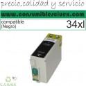 TINTA COMPATIBLE EPSON 34XL NEGRO