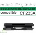 HP CF233A NEGRO CARTUCHO DE TONER GENERICO Nº33A