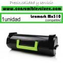 LEXMARK MX310/MX410/MX510/MX511/MX611 NEGRO CARTUCHO DE TONER GENERICO 60F2H00/602H