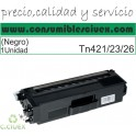 TONER COMPATIBLE BROTHER TN421/3/6 NEGRO