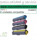PACK 4 TONER COMPATIBLE NCMY TN243/7