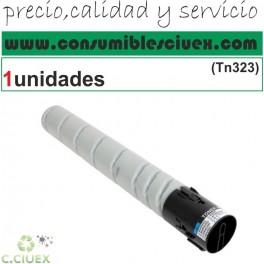 KONICA MINOLTA TN323 NEGRO CARTUCHO DE TONER GENERICO A87M050