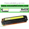 TONER COMPATIBLE HP CC532A AMARILLO