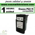 CARTUCHO COMPATIBLE CANON PG-512 NEGRO ALTA CAPACIDAD(Calidad,Precio y Servicio)