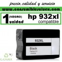 CARTUCHO HP 932XL NEGRO COMPATIBLE REMANUFACTURADO