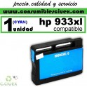 CARTUCHO HP 933XL CYAN COMPATIBLE REMANUFACTURADO